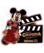 Disney Minnie Mouse California Adventure Clapboard Established 2001 pin - $11.93