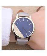 Top Famous Women Watch White Leather Wristwatch Analog Clock Retro Jewel... - $3.99