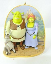 Shrek 2 Hallmark KeepsakeChristmas Ornament -SHREK & PRINCESS FIONA 2005... - $14.99