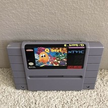 Q Bert 3 Super Nintendo SNES Video Game Cartridge Only - $23.71