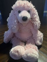 BABY BUILD-A-BEAR PINK FRENCH POODLE PUPPY DOG PLUSH CURL STUFFED ANIMAL... - $21.78