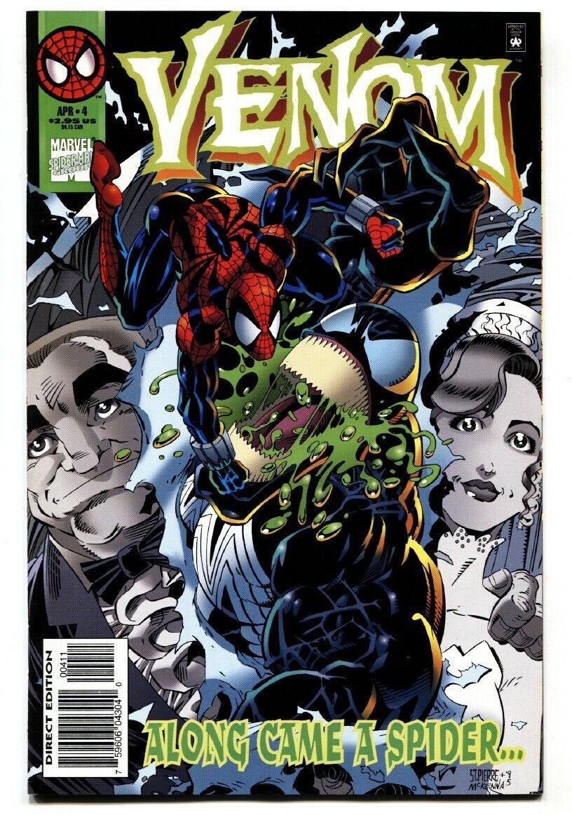 Venom: Along Came a Spider #4-Spider-Man-comic book Marvel NM- - $18.92
