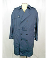 NEW BLUE DSCP Garrison Collection Military USAF Removable Liner Trench C... - $39.59