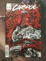 Carnage Black White Blood #2 Hotz Variant Marvel Comics 2021 - $4.70