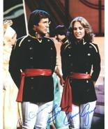 Gil Gerard as Buck Rogers and Erin Grey as Wilma Deering Dual Autographe... - $72.45