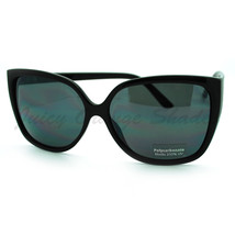 Oversized Butterfly Frame Sunglasses Womens Chic Celebrity Fashion Shades - $7.95