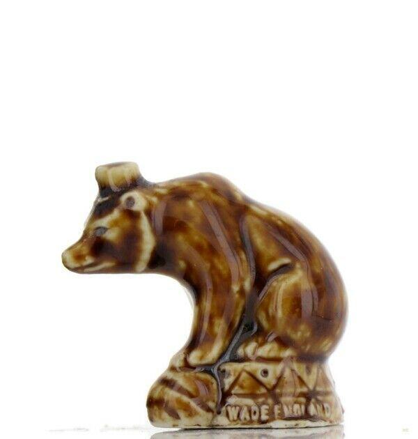 Tom Smith Animates Porcelain Miniature by Wade Original Glaze Circus Bear