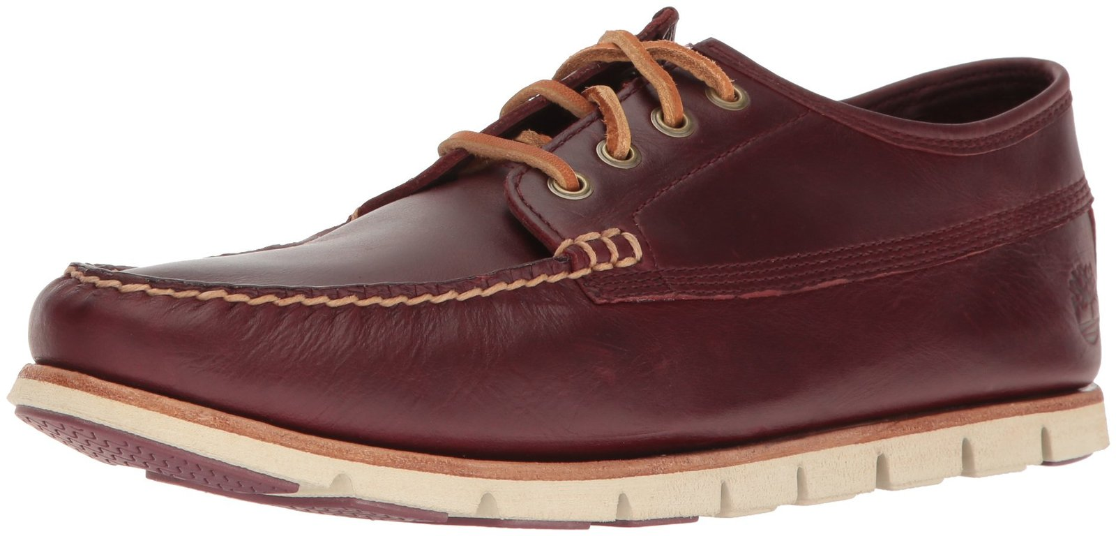 Timberland Men's Tidelands Ranger Moc Boat Shoe, Redwood Brando, 11 M US