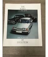 1927-1977 VOLVO 50th Anniversary History Booklet 544 122 P1800 142E 244 ... - $20.00