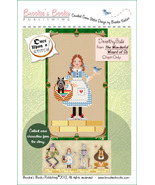 Once Upon A Stitch:Dorothy Wizard of Oz Chart only cross stitch Brooke's... - $5.40