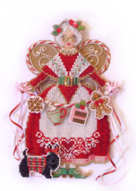 Spirit of Mrs Claus Angel Ornament Chartpack cross stitch Brooke's Books  - $13.50