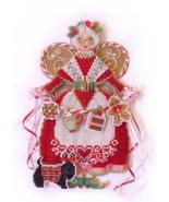 Spirit of Mrs Claus Angel Ornament Chartpack cross stitch Brooke's Books  - $13.50
