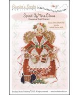 Spirit of Mrs. Claus Angel Ornament Chart only christmas cross stitch Br... - $9.00