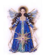 Spirit of Christmas Star Angel Ornament Chartpack cross stitch Brooke's ... - $13.50