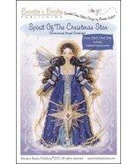 Spirit of Christmas Star Angel Ornament Chart only cross stitch Brooke's... - $9.00