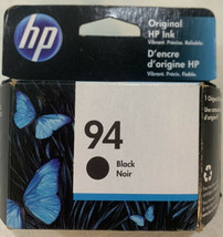 HP Original 94 Black Ink Cartridge Genuine HP - NEW Expires 9/2021 - $14.01