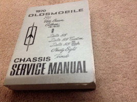 1970 Oldsmobile F85 CUTLASS 442 VISTA DELTA TORNADO 88 Service Shop Manu... - $47.47