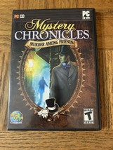 Mystery Chronicles Murder Among Friends  Computer Game - $18.69