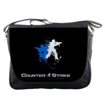 Messenger Bag Action Game In The World Counter Strike Logo CS GO For Anime Game - $30.00