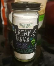 Frontier Natural Products, Cream of Tartar, Powder, 3.52 oz - $15.99