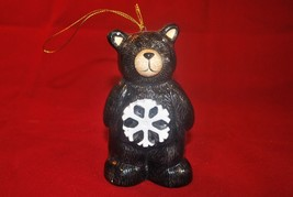 Winter Time Bear Christmas Ornament - $4.99