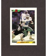 1992 Bowman # 100 Emmitt Smith Dallas Cowboys NM - $2.99