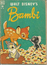 Four Color #186 BAMBI last years Comic Book Price Guide $14-$335 DELL 1948 - $12.87
