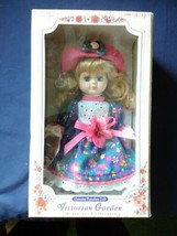 VICTORIAN GARDEN GENUINE PORCELAIN DOLL MINIATURE COLLECTION BY MELISSA ... - $14.99