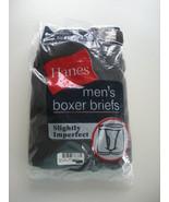 Hanes Men's Boxer Briefs (2) Size Small - $6.99