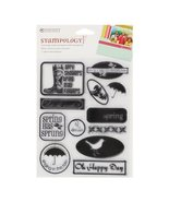 Autumn Leaves(R) Stampology Clear Stamps - Wellies N Brellas - $6.93