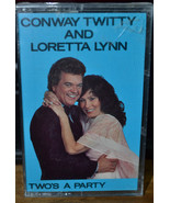 Two's a Party by Conway Twitty & Loretta Lynn (Cassette, Universal Speci... - $8.59
