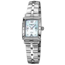 Raymond Weil 974ST00995 Ladies Authentic Diamond Parisfal Watch 12080 - $366.53