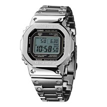 New Casio G-Shock Full Metal Silver 35th Anniversary LTD Watch GMWB5000D-1 - $446.09