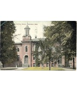 Central School Dowagiac Michigan vintage 1909 Post Card - $6.00