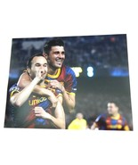 David Villa FC Barcelona signed 11x14 photo Soccer Football Autographed - $22.99