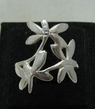 R001151 Sterling Silver Ring Solid 925 Dragonfly - $12.30
