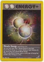 Miracle energy holo 16 rare 1st edition neo destiny