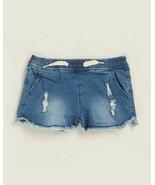 NWT Hudson Jeans Kids Katie Knit Pull Up Distressed Denim Shorts 24 Months - $13.85