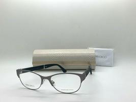 Jimmy Choo Eyeglasses Jc 180 17Q Gunmetal /GLITTER 53-16-140MM Italy Case& Cloth - $77.09