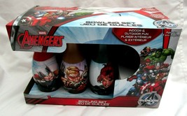 Marvel Avengers Capt America,Iron Man,Hulk 6 Pin 1 Ball Bowling Set Toy Game-New - $39.59