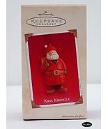 Hallmark 2003 Kris Kringle Christmas Ornament MIB - $4.95