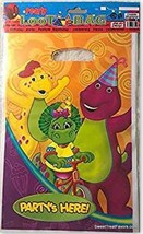 BARNEY Dinosaur Party Supplies Bags Treats Birthday Decoration Baby 10 P... - $12.82