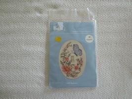 Fond Memories BUTTERFLY Single ACRYLIC SWITCHPLATE Cross Stitch Kit SP62 - $9.00