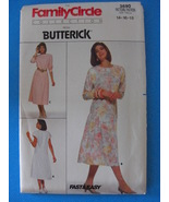 Butterick Fast & Easy #3690 Pattern Sizes 14 16 and 18 - $4.95