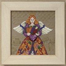 Fall Angel 2010 cross stitch kit Jim Shore Mill Hill - $14.40