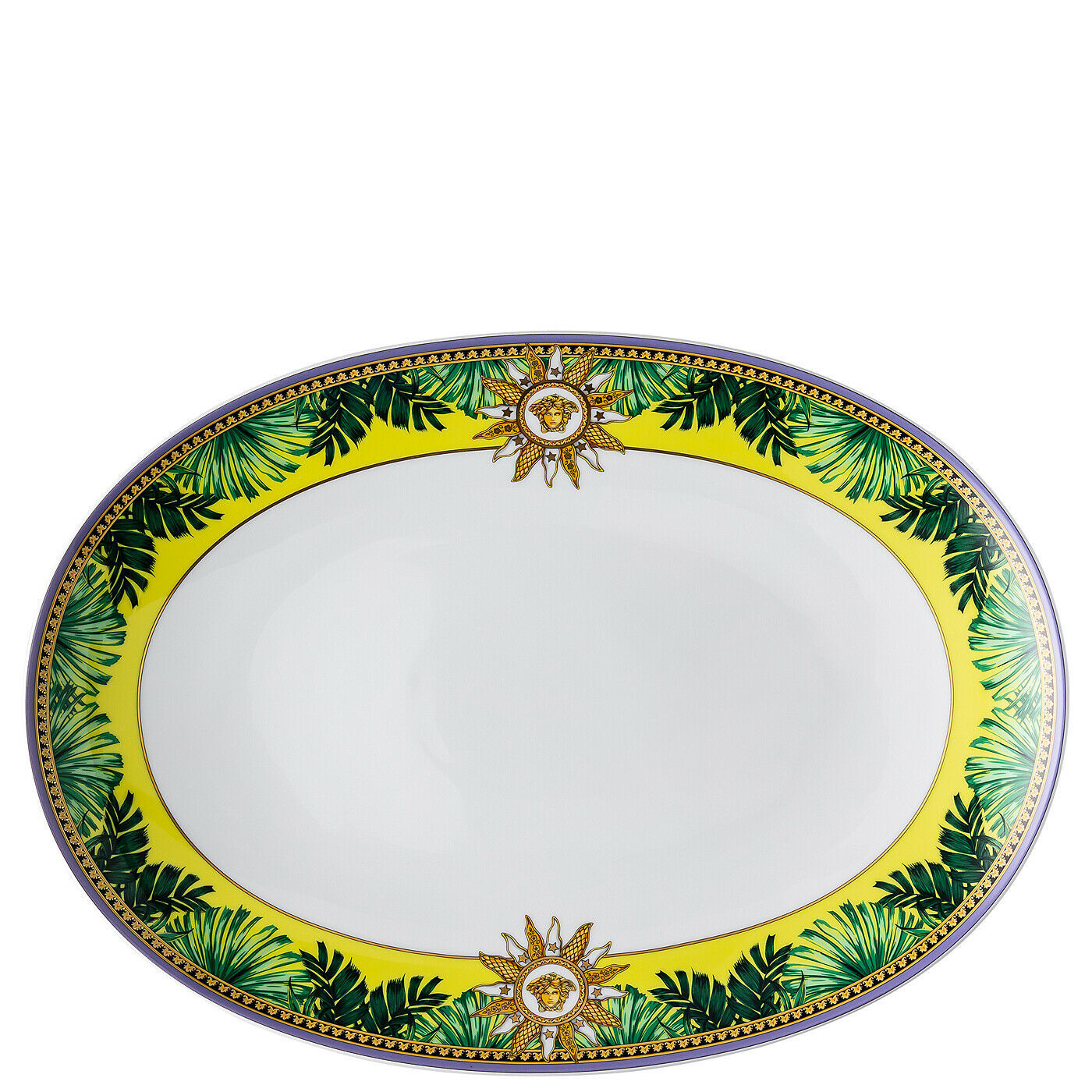 Primary image for Versace by Rosenthal Jungle Animalier Platter 33 cm/12.99""