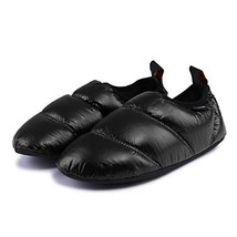 KingCamp Unisex Warm Soft Camping Slippers with Slip Resistant Rubber So... - $24.38