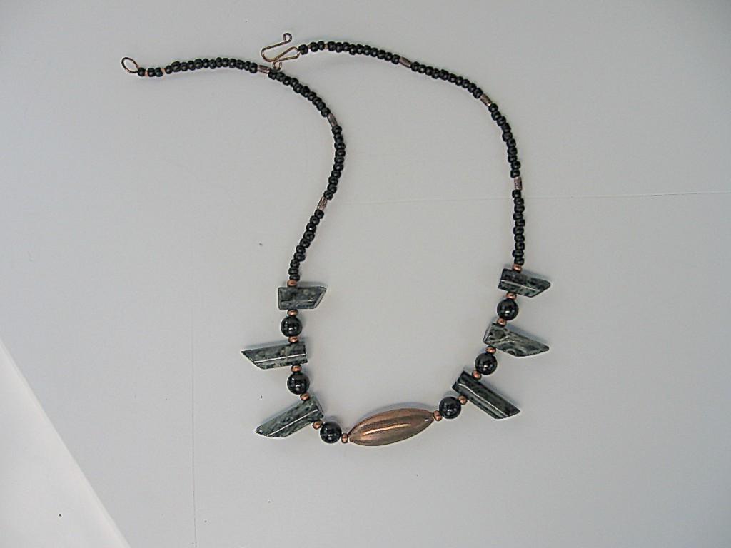 Unusual, Handcrafted Unisex Gemstone  Necklace Bonanza