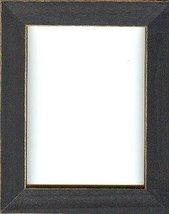 Matte Black wooden frame opening 5.5 x 7.5 Mill Hill  - $17.10