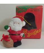 Jolly Jingles NIB Santa Bell Tree Ornament - $3.95
